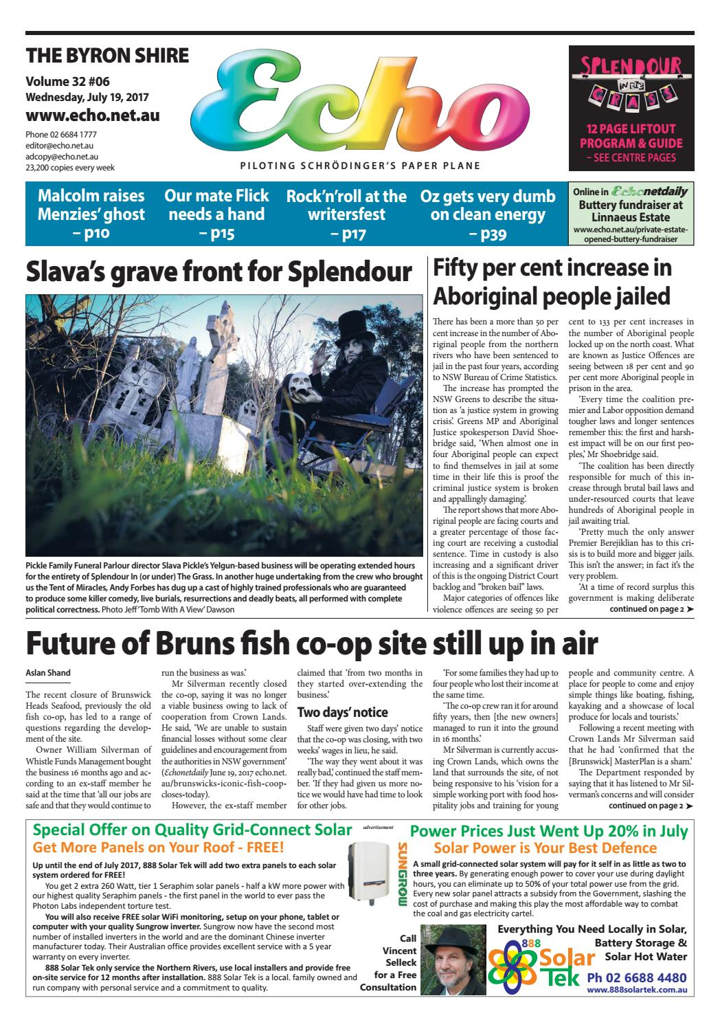 Byron Shire Echo Issue 3206 19 07 2017 By Publications Issuu Circuits 8085 Projects Blog Archive Rfcontrolled Toy Car Circuit