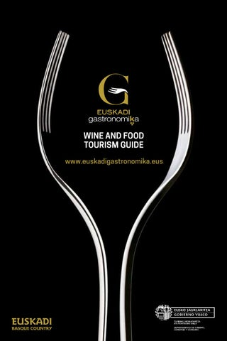 Wine and Food Tourism Guide - Euskadi Gastronomika by Dirección de ... 95ad2b8f283a8