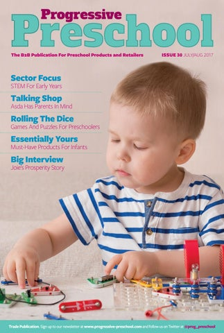 Progressive Preschool July August 2017 By Max Publishing Issuu