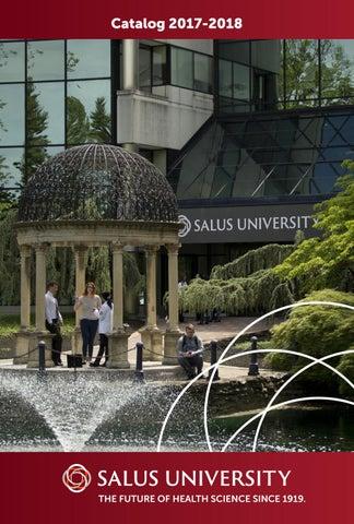 Salus University Catalog 2017 - 2018 by Salus University - issuu