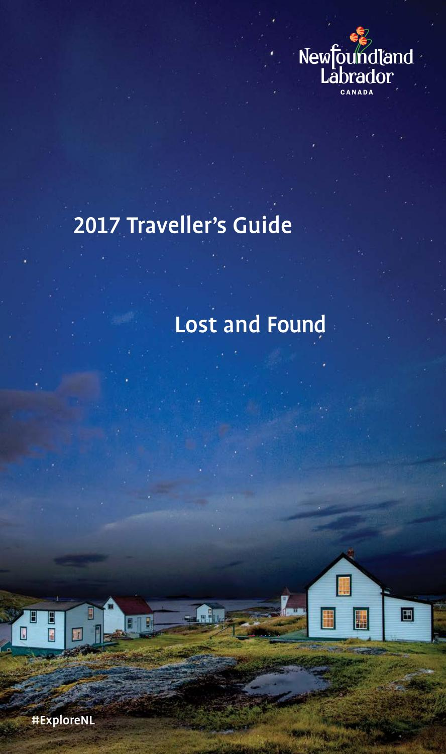 Newfoundland Labrador Traveller S Guide 2017 By And Tourism Issuu