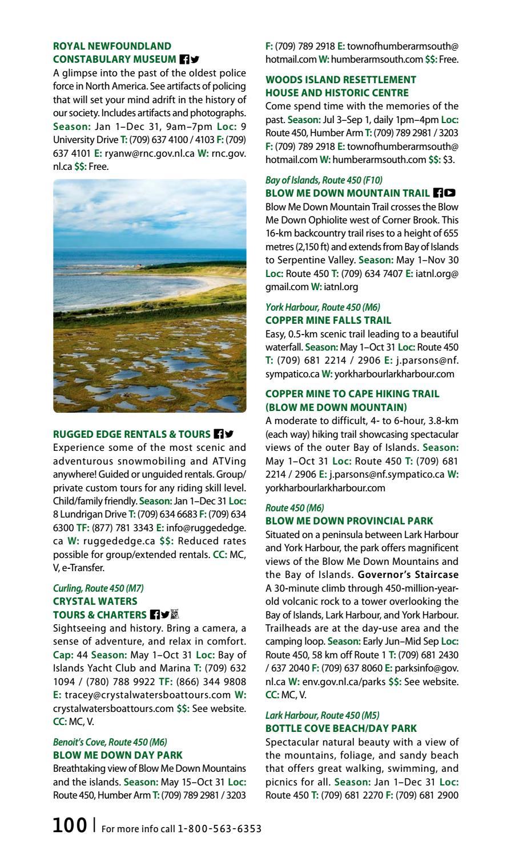 Newfoundland & Labrador Traveller's Guide 2017