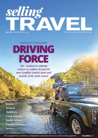 Selling Travel May 2016