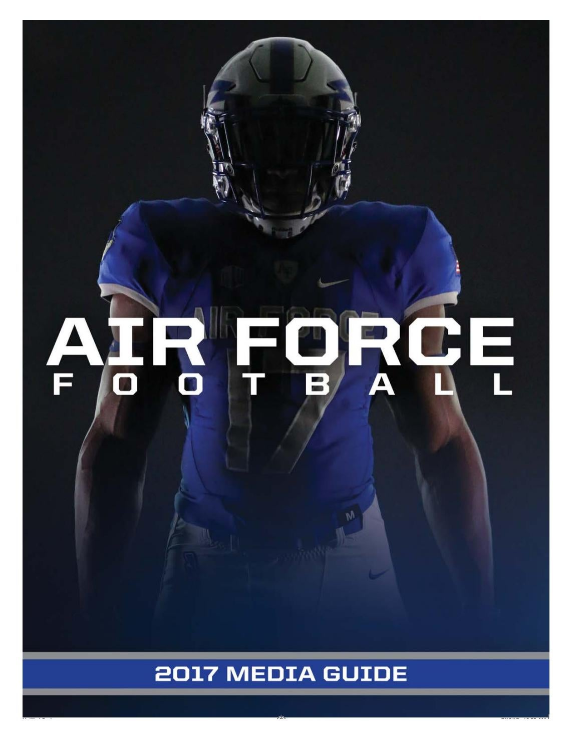 c0fc95a96 2017 Air Force football media guide by Dave Toller - issuu
