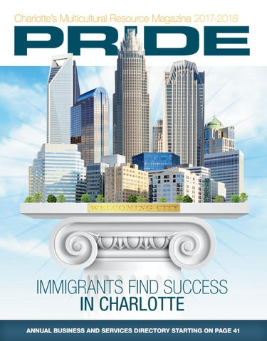 """2017 July/August """"Charlotte Multicultural Resource Magazine"""