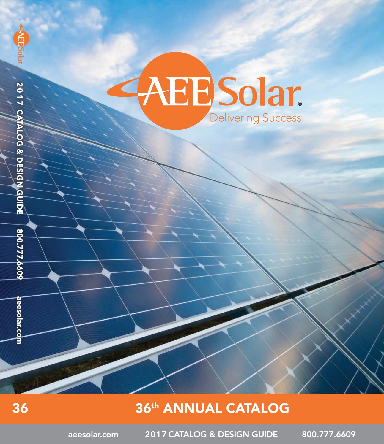 Aeesolar Catalog 2017 By Aliggett Issuu Circuit 5000 Watt Power Inverter Schematic Grid Tie Micro Gel
