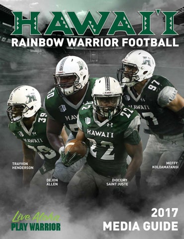 47c786282cfb 2017 Hawaii Football Media Guide by hawaiiathletics1 ...