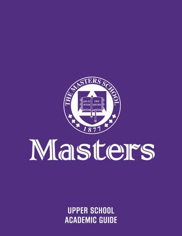 The masters school upper school curriculum guide 2015 2016 by page 1 fandeluxe Image collections