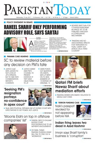 E paper pdf (19 07 2017) (khi) by Pakistan Today - issuu