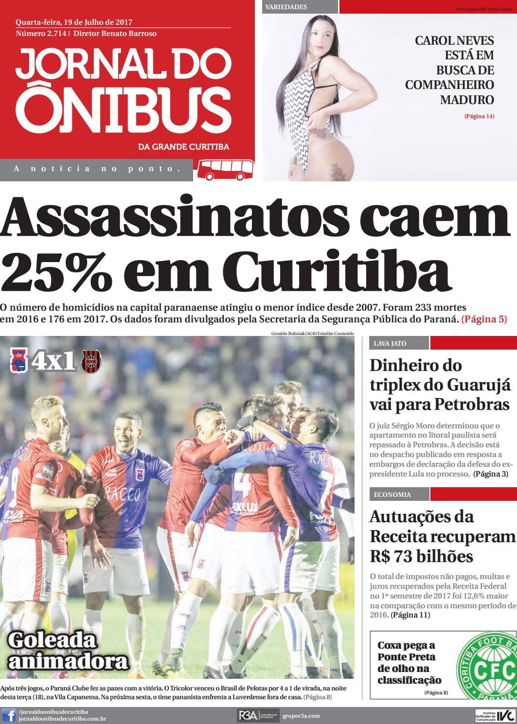 Editora Jornal do Ônibus - Edição do dia 19-07-2017 by Editora Correio  Paranaense - issuu 210a17e74293c
