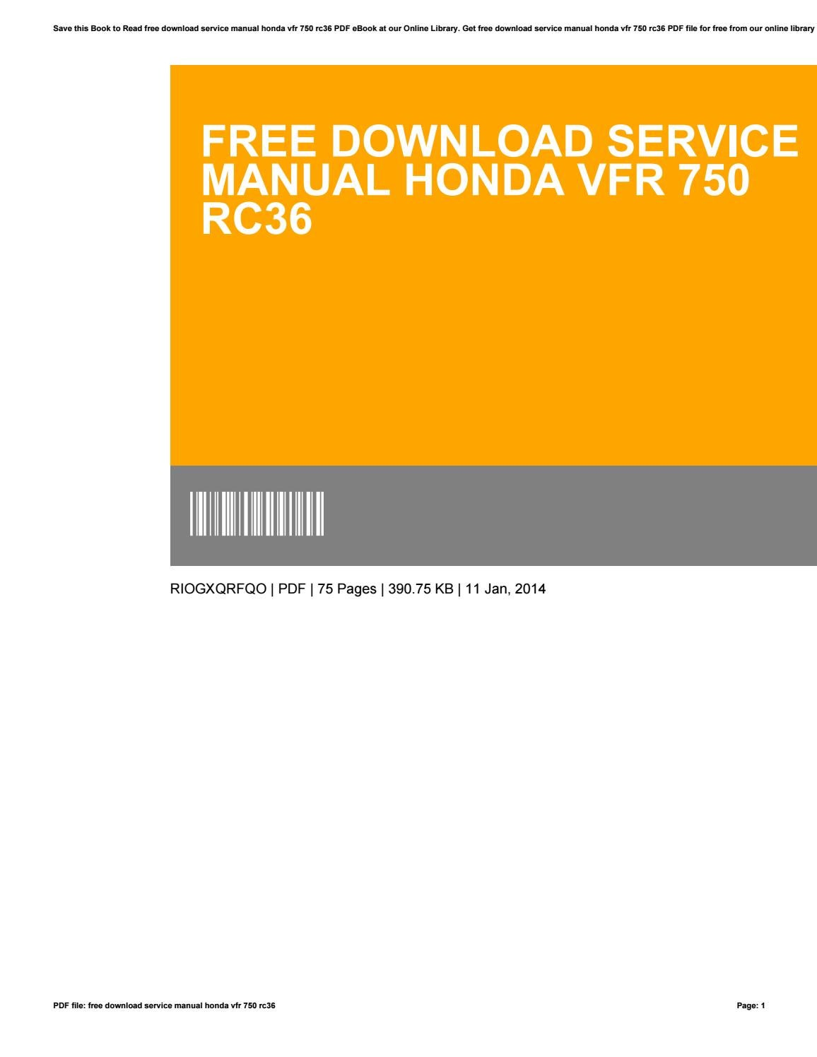 honda integra service manual ebook