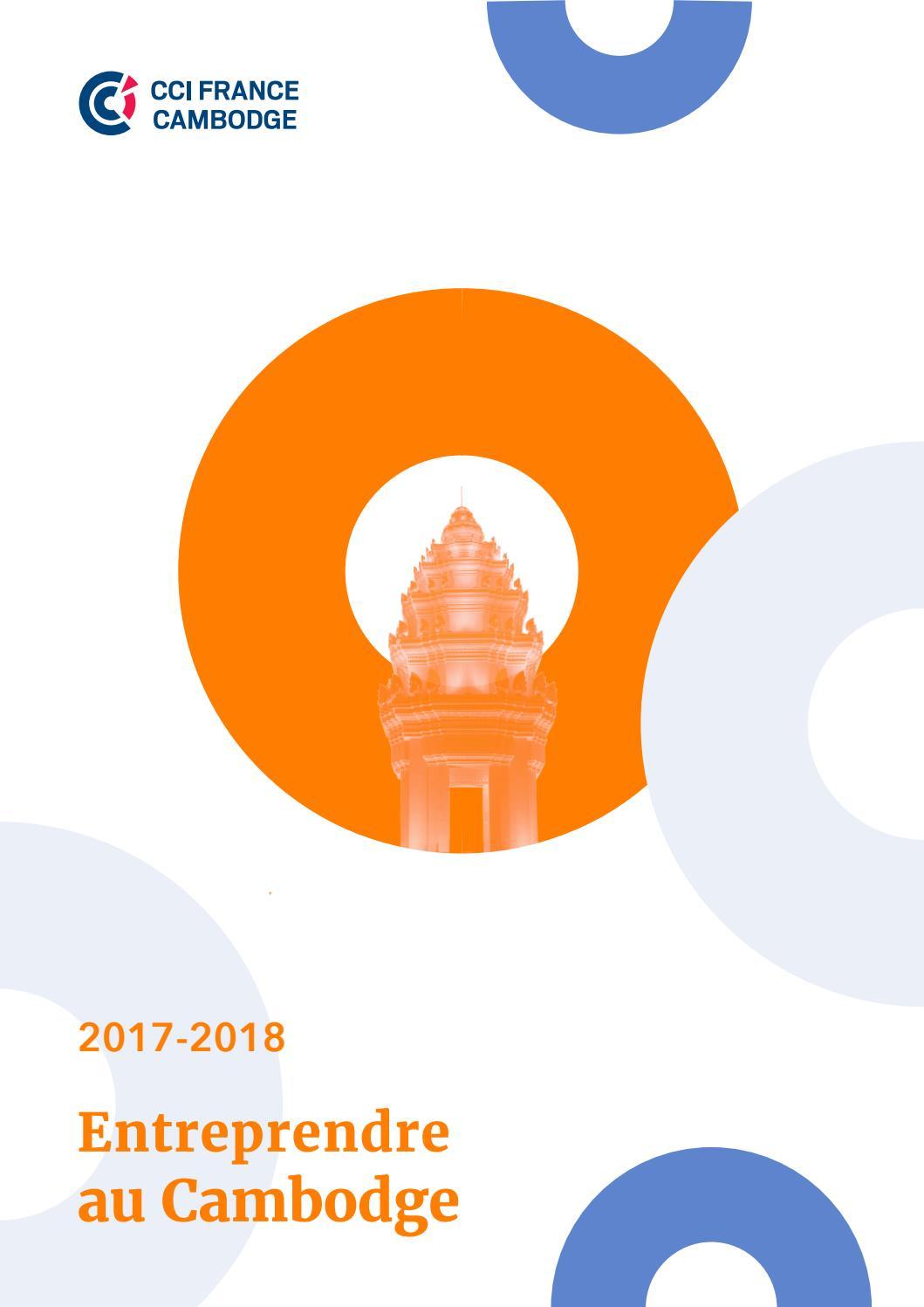 Entreprendre Au Cambodge 2017 2018 By CCI FRANCE CAMBODGE