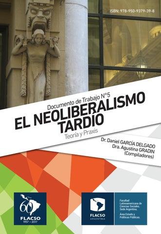 Documento de Trabajo Nº 5 El Neoliberalismo tardío by Emiliano - issuu 6c6386863f3