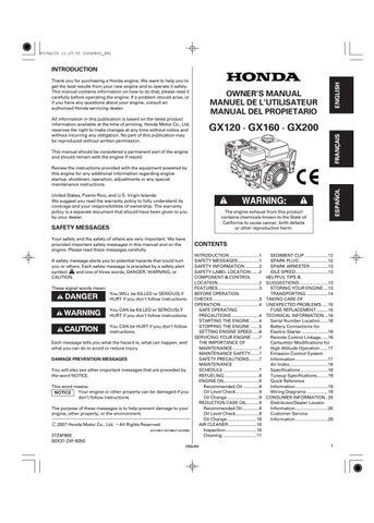 honda vezos by vezos issuu rh issuu com honda gx160 manual greek Honda GX160 Replacement Parts