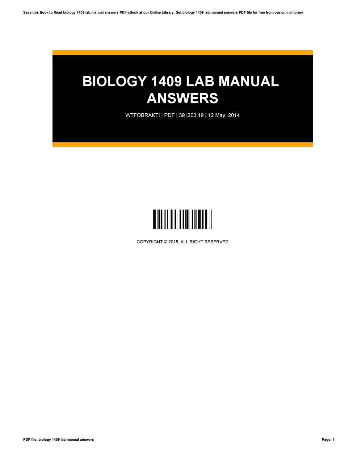 biology 1409 lab manual answers by lynnross2245 issuu rh issuu com