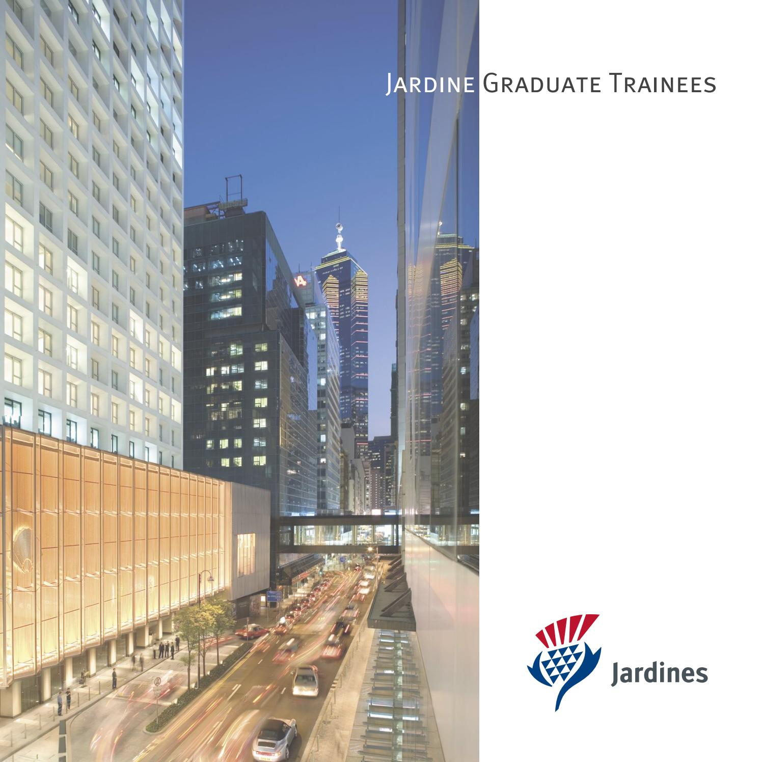 Jardine Matheson In Chinese: Jardine Graduate Trainee Brochure By Jardine Matheson