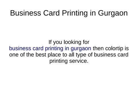Flyers poster color bwbusiness card printing in gurgaon by page 1 business card printing in gurgaon reheart Images