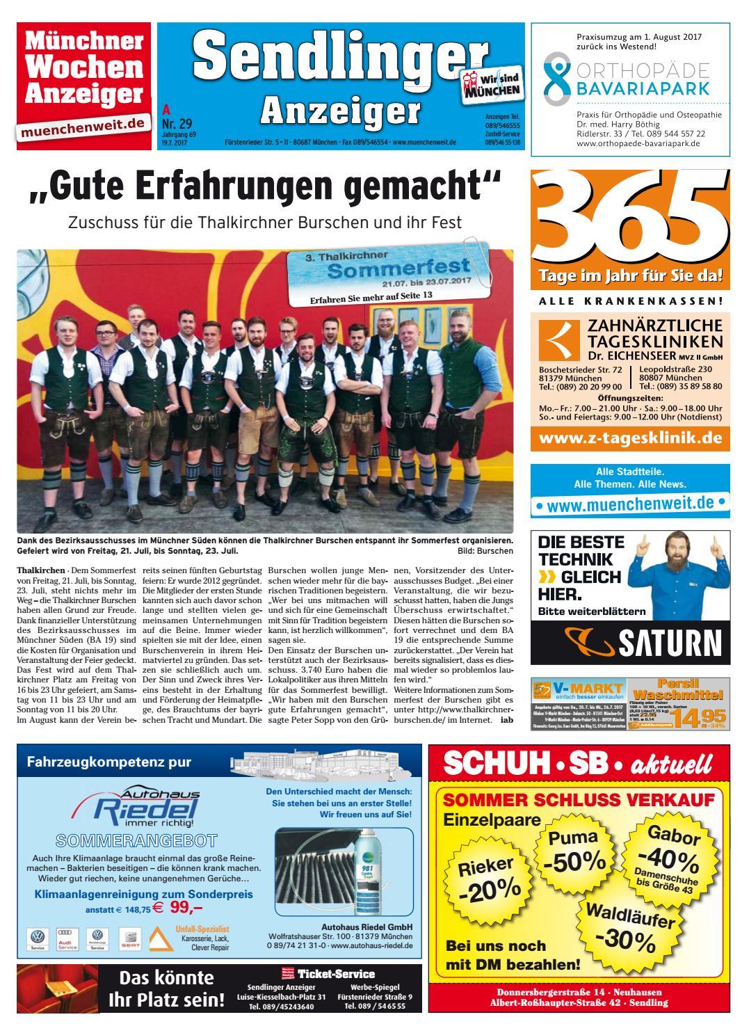 KW 29 2017 by Wochenanzeiger Medien GmbH issuu