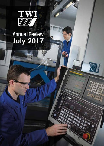 TWI Annual Review 2017 by TWI Ltd - issuu