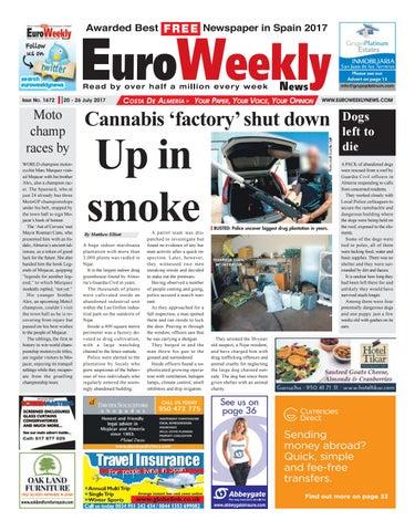 562c9a9ec891a Euro Weekly News - Costa de Almeria 20 – 26 July 2017 Issue 1672 by ...