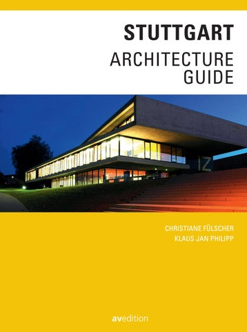 Page 1. STUTTGART ARCHITECTURE GUIDE