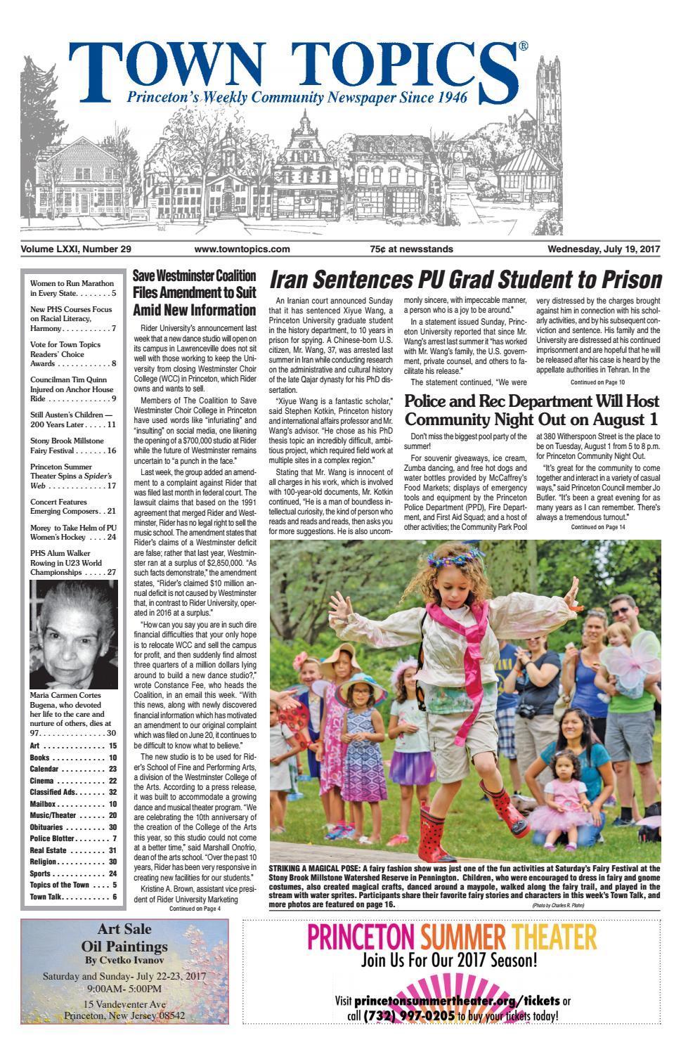 4510ad720b8 Town Topics Newspaper July 19