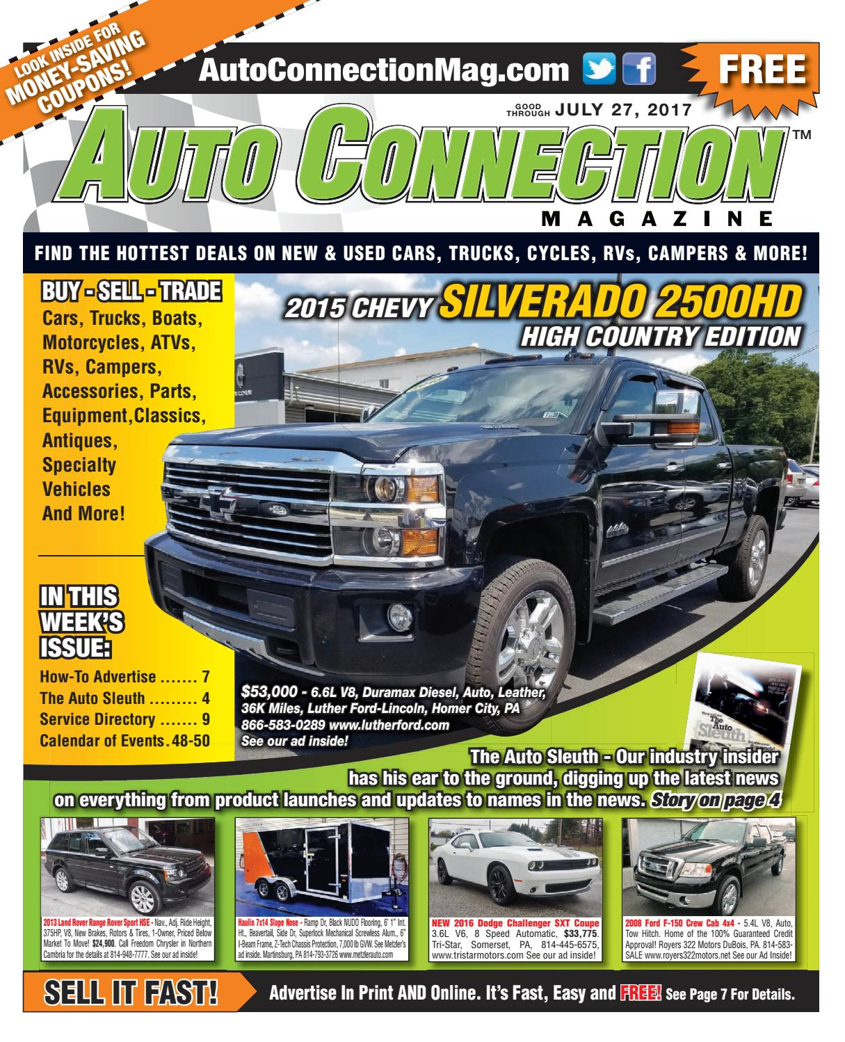 07-20-17 Auto Connection Magazine by Auto Connection Magazine - issuu