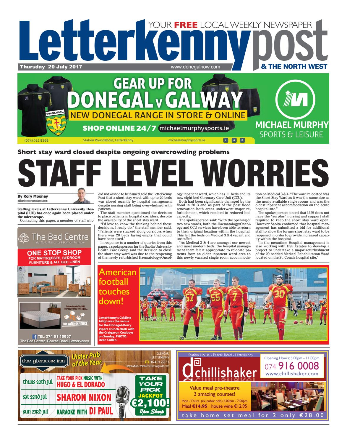 Letterkenny post 20 07 17 by river media newspapers issuu solutioingenieria Image collections