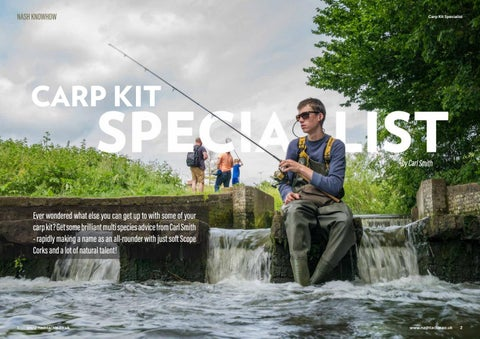 Carp kit specialist by Official Nash Tackle - issuu
