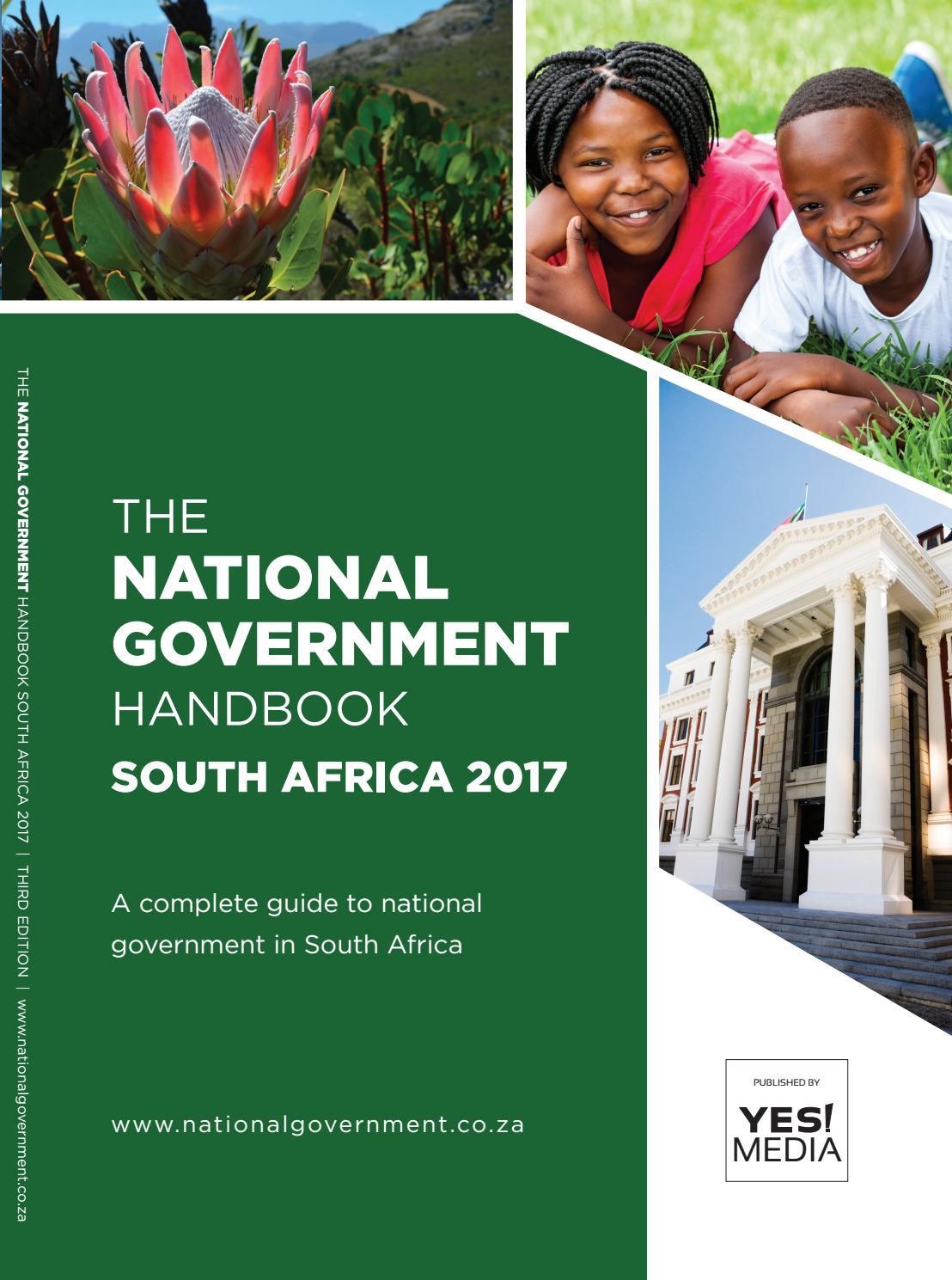 National Government Handbook - South Africa 2017 by Yes