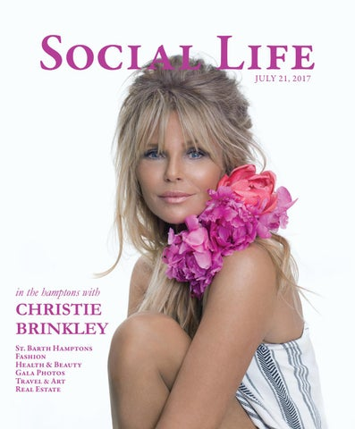 Social Life - July 21 2017 - Christie Brinkley by Social