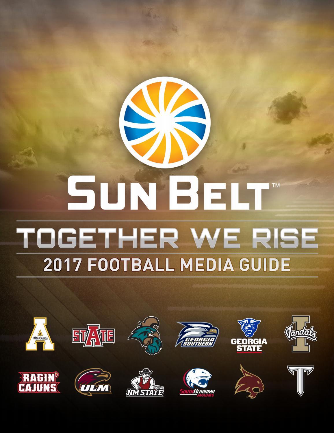 2017 Sun Belt Football Media Guide by Keith Nunez - issuu
