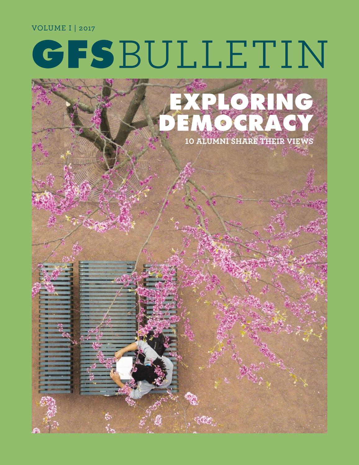 GFS Bulletin: Spring 2017 Exploring Democracy by Germantown Friends ...