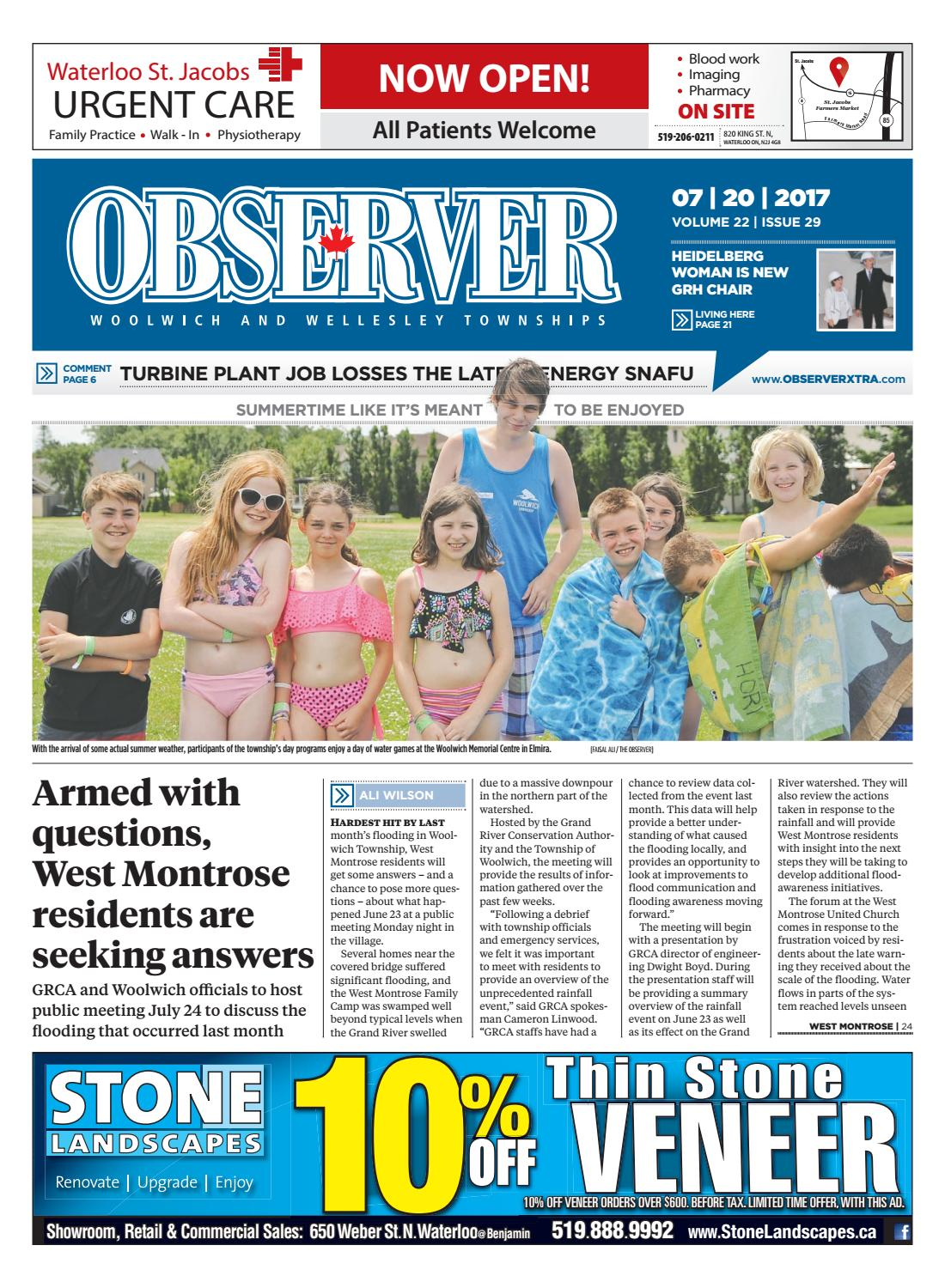 July 20, 2017 by Woolwich Observer - issuu