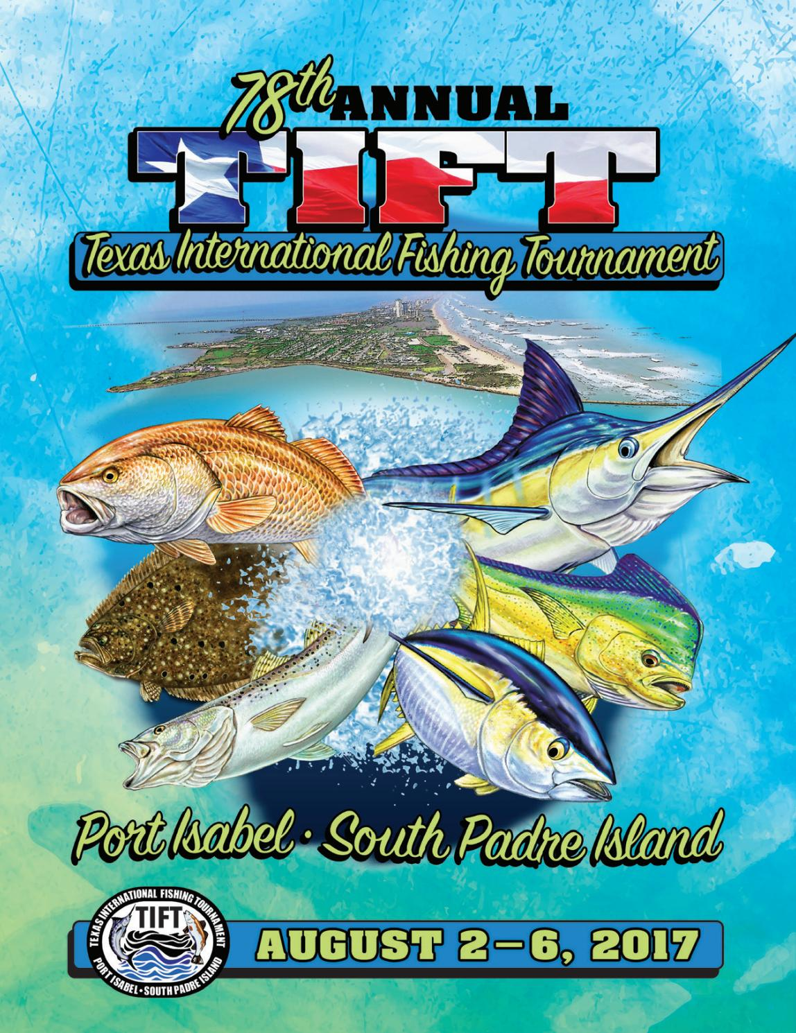 78th texas international fishing tournament program book by texas