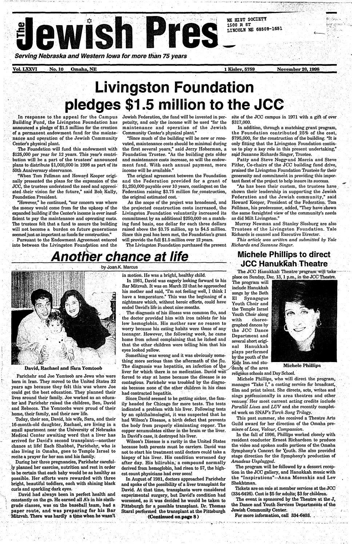 November 20, 1998 by Jewish Press - issuu