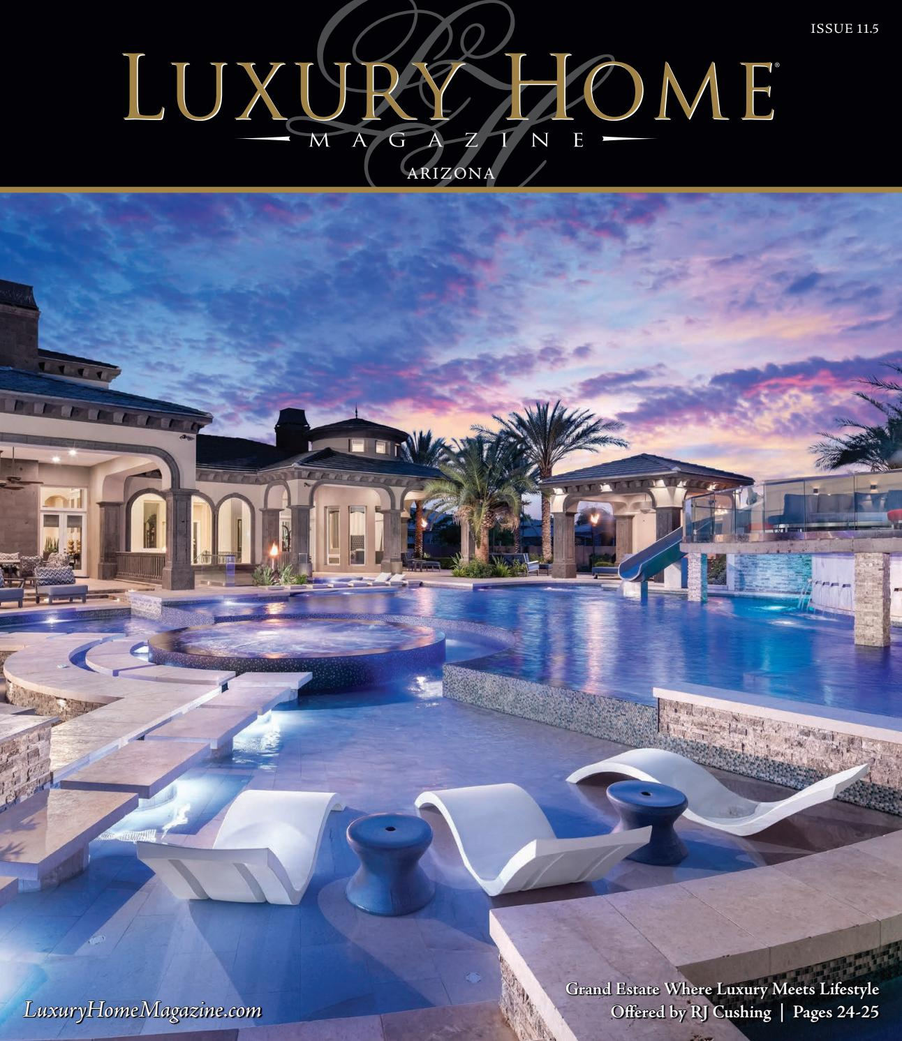 luxury home magazine arizona issue 11 5 by luxury home magazine issuu. Black Bedroom Furniture Sets. Home Design Ideas