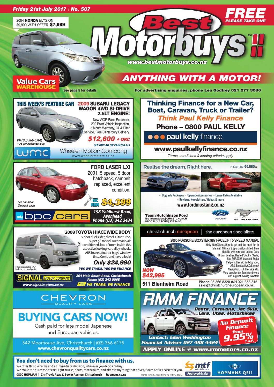 Best Motorbuys 21-07-17 by Local Newspapers - issuu