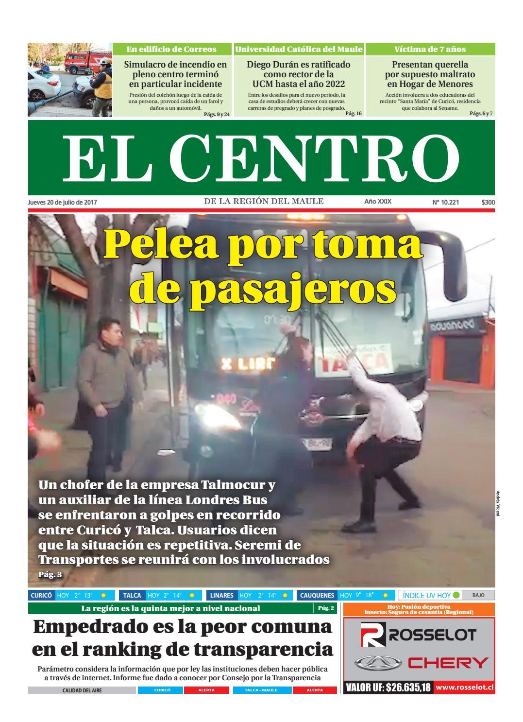 64d42624 Diario 20-07-2017 by Diario El Centro S.A - issuu