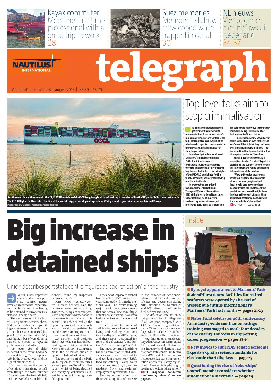 Nautilus Telegraph August 2017 by Redactive Media Group - issuu