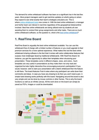5 Best Online Whiteboard Software by ezTalks - issuu