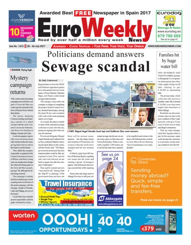 b32b24d31cf96 Euro Weekly News - Axarquia 20 – 26 July 2017 Issue 1672 by Euro ...