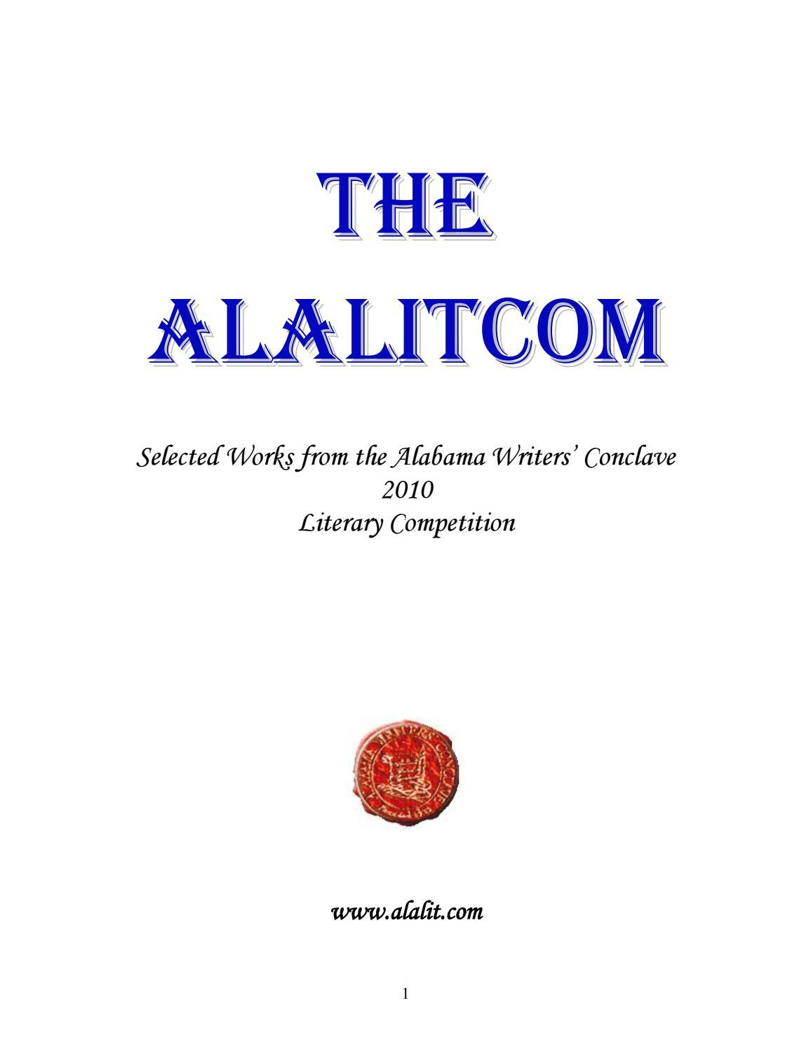 The AlaLitCom - 2010 by Alabama Writers\' Conclave - issuu