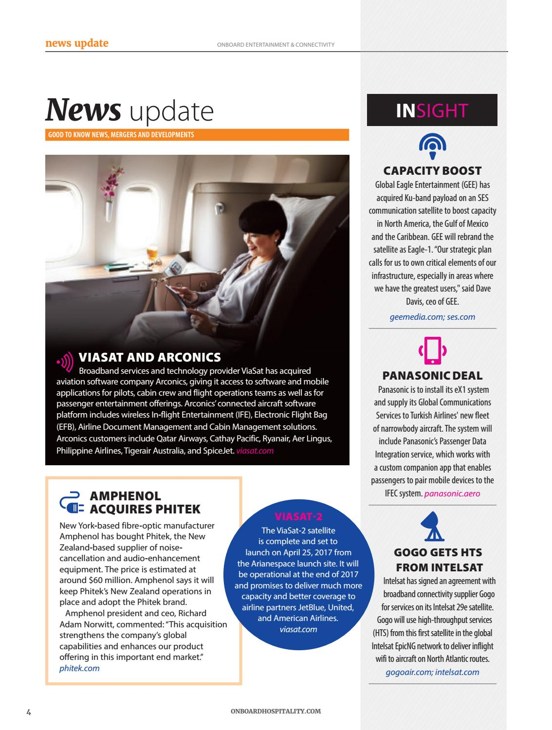 Onboard Entertainment & Connectivity March 2017 by BMI Publishing