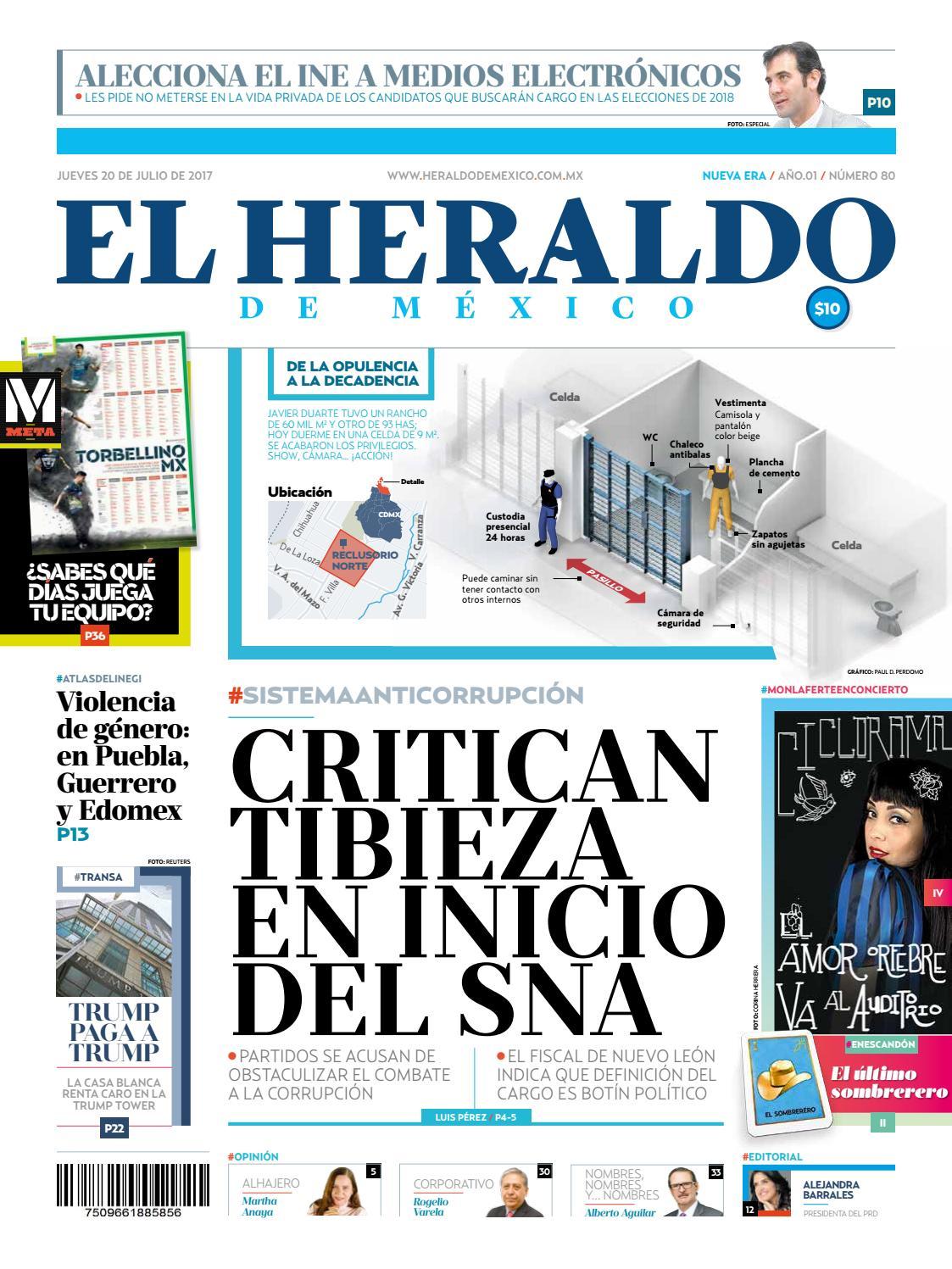 El Heraldo de México 20 de Julio de 2017 by El Heraldo de México - issuu cfd7a832af3
