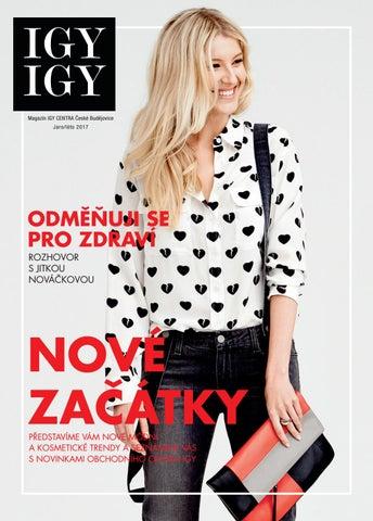 3d54a8c92e8 Magazín IGY CENTRA České Budějovice Jaro léto 2017