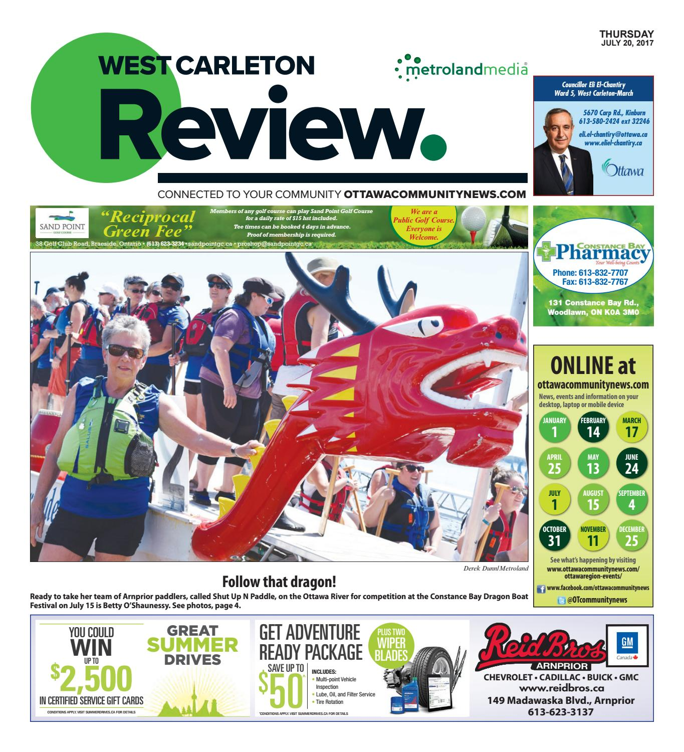 d6f8a7be7943f3 Westcarleton072017 by Metroland East - West Carleton Review - issuu