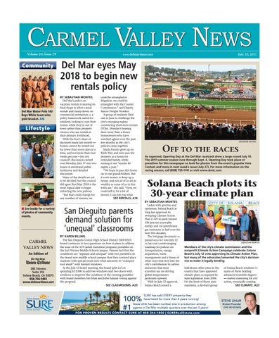 e936fe29eb3 Carmel Valley News 07 20 17 by MainStreet Media - issuu