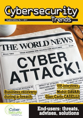 Cybersecurity Trends 1/2017 EN by Swiss Webacademy - issuu