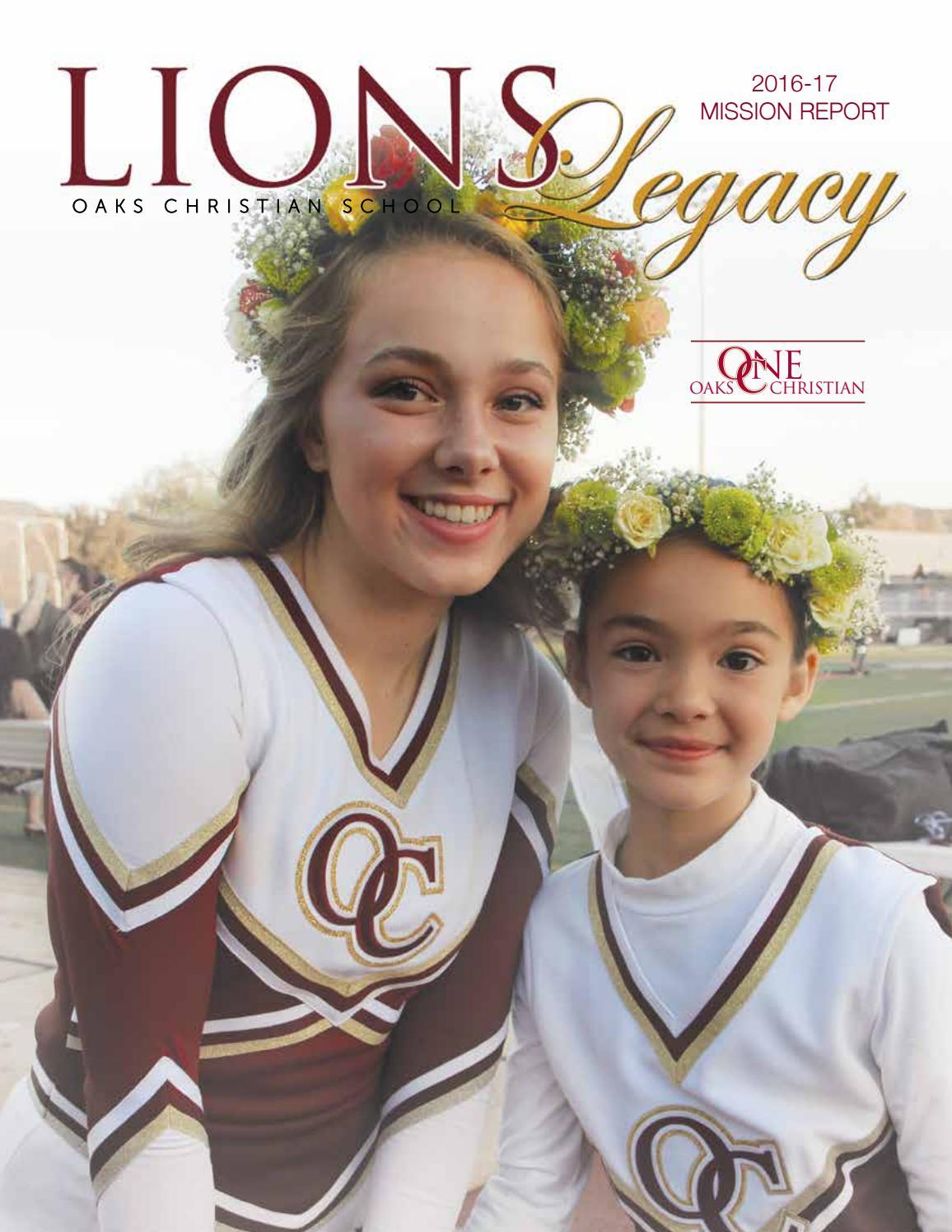 Oc Mission Report 2016 2017 By Oaks Christian School Issuu